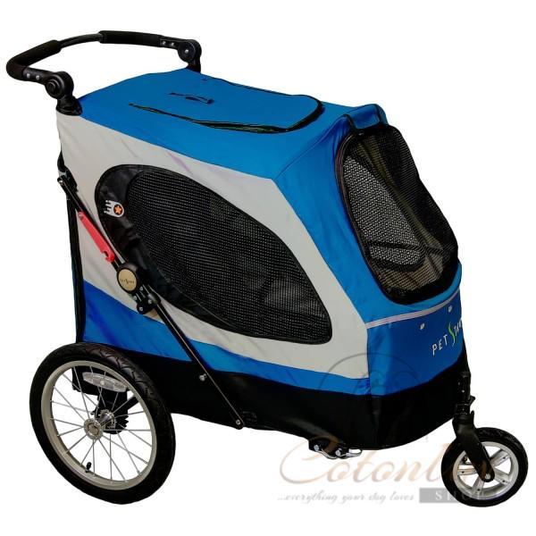 PETSTRO Stroller SKYLINE / Aventura XL 701GX-IB Indigo Blau