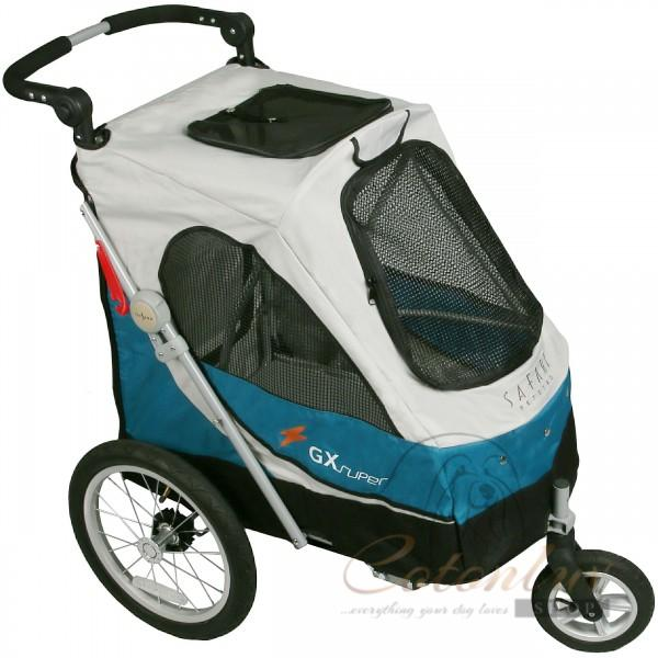PETSTRO SAFARI / Aventura Pet Stroller blue grey 702GX