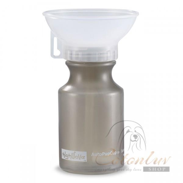 HighWave AutoDogMug Drinking Bottle for Dogs - smoke