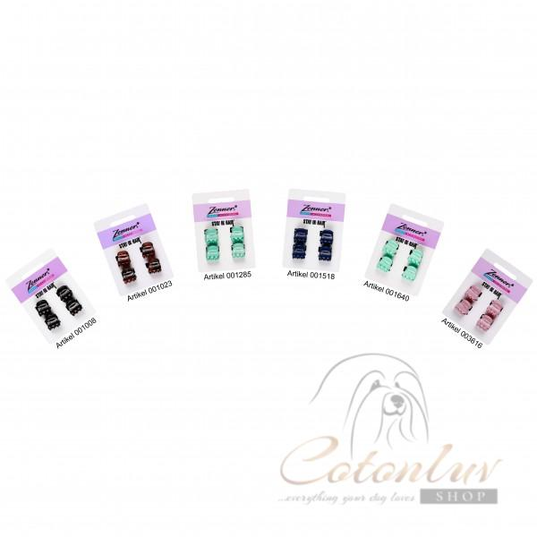 Zenner Haarspange 15mm 4 Stk. Stay In Hair Mini Zwicker