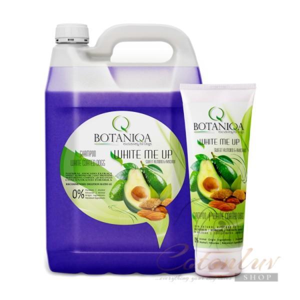 BOTANIQA BASIC LINE White Me Up Sweet Almond & Avocado Shampoo