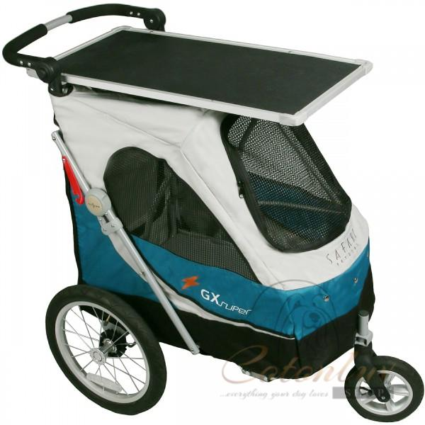 PETSTRO Stroller SAFARI & Table 702GX - Blue Grey