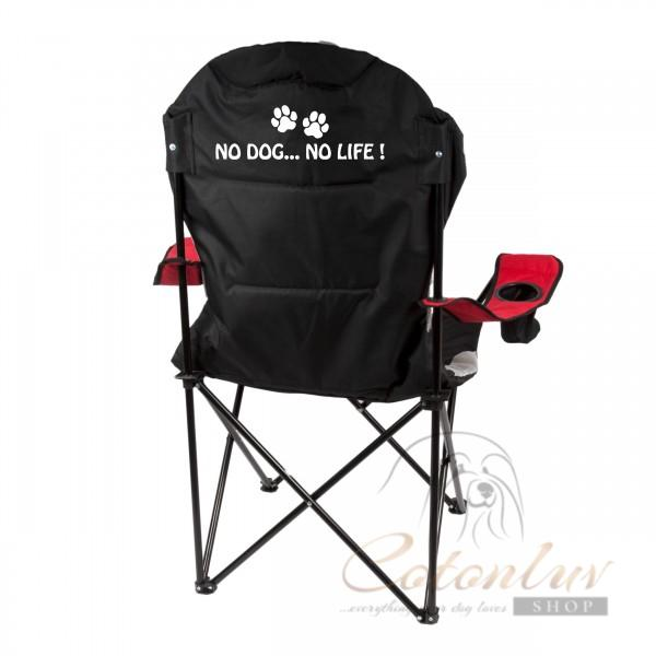Show Tech Folding Comfy Chair Deluxe Red for Shows