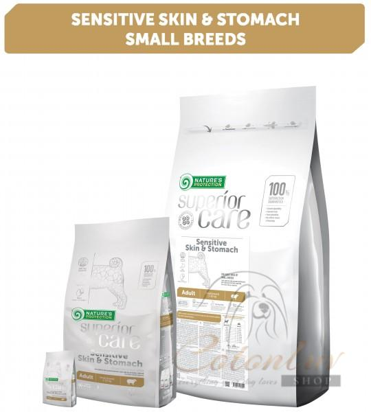 NP Superior Care Sensitive Skin & Stomach Lamb Adult Small Breeds