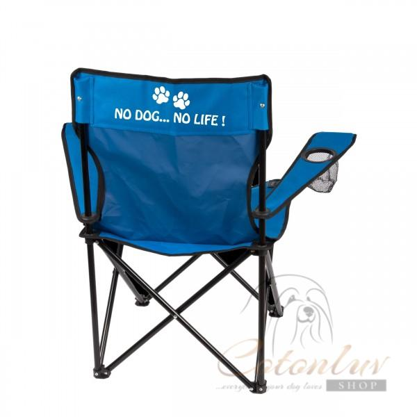 Show Tech Folding Chair blue Eco for Shows