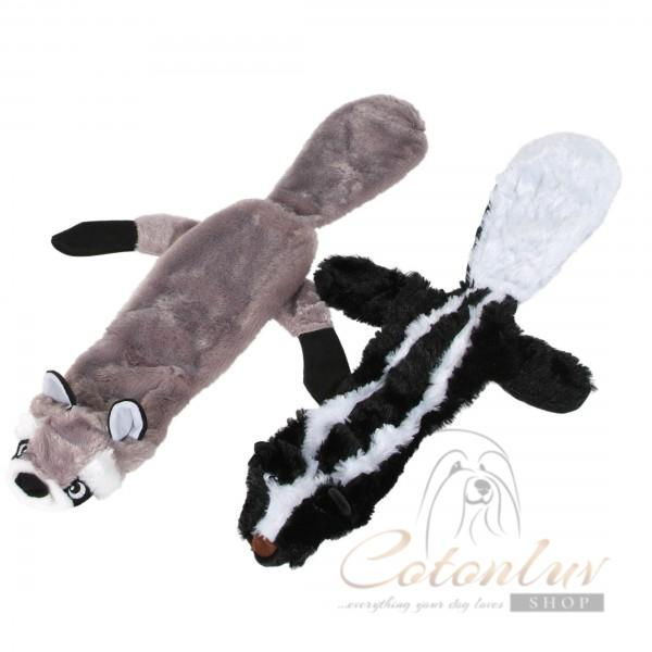 O´lala Pets Squeaky Tug Toy – Polecat or Skunk - 55cm
