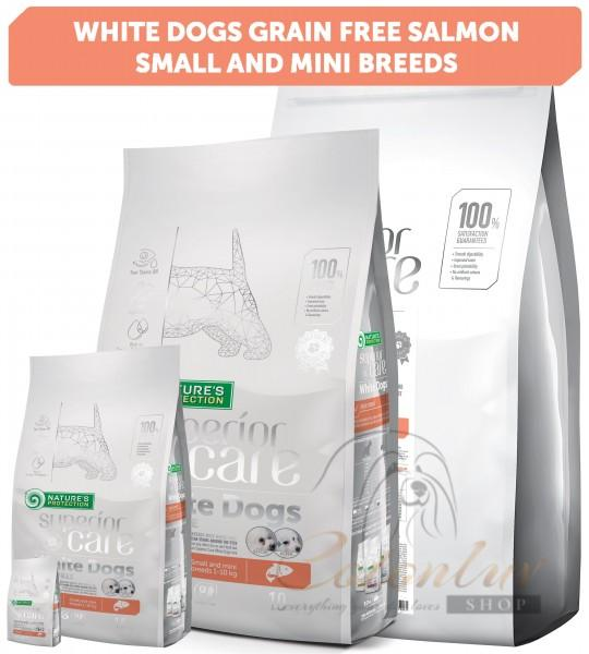 NP Superior Care White Dogs Grain Free Salmon Adult Small and Mini Breeds