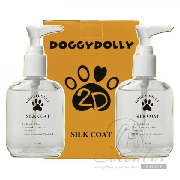 Doggydolly Silk Coat Fellseide - Bundle 2 Packungen