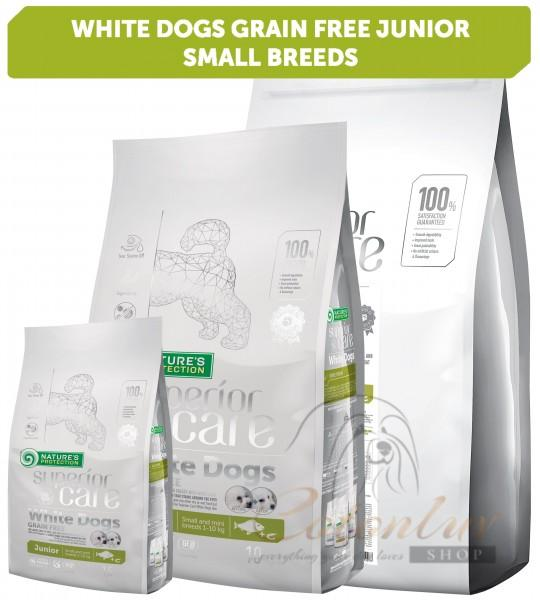 NP Superior Care White Dogs Grain Free White Fish Junior Small and Mini Breeds