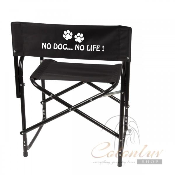 Show Tech Folding Directors Chair Black for Shows