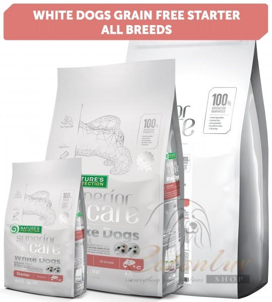 NP Superior Care White Dogs Grain Free Salmon Starter All Breeds